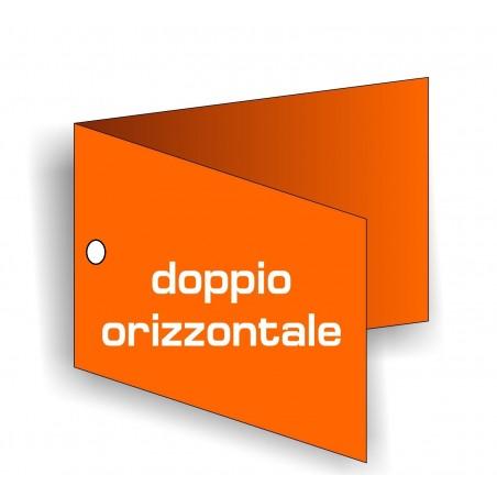 Cartellini forati Doppi Orizzontali