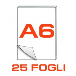 A6 Block notes - 25 fogli