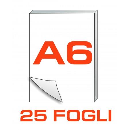 A6 Block notes - 25 fogli