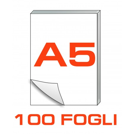 A5 Block notes - 100 fogli