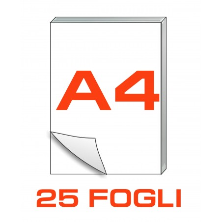 A4 Block notes - 25 fogli