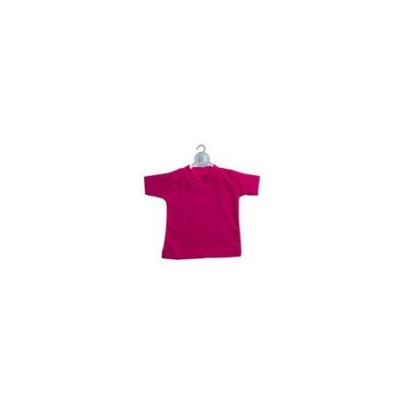 Mini t-shirt Fucsia  (conf. 10pz)