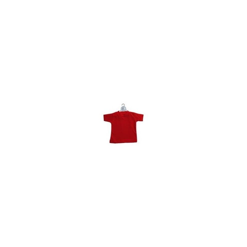 Mini t-shirt Rosso (conf. 10pz)