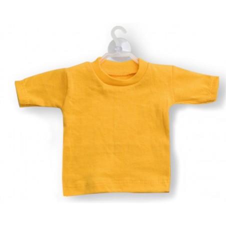 Mini t-shirt Giallo (conf. 10pz)