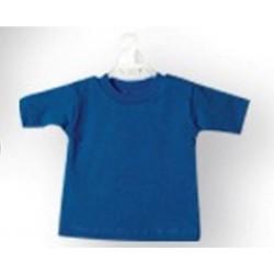 Mini t-shirt Blu (conf.10pz)