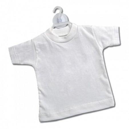 Mini t-shirt Bianco (conf. 10pz)