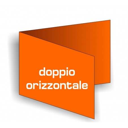 Biglietti da visita Doppi Orizzontali
