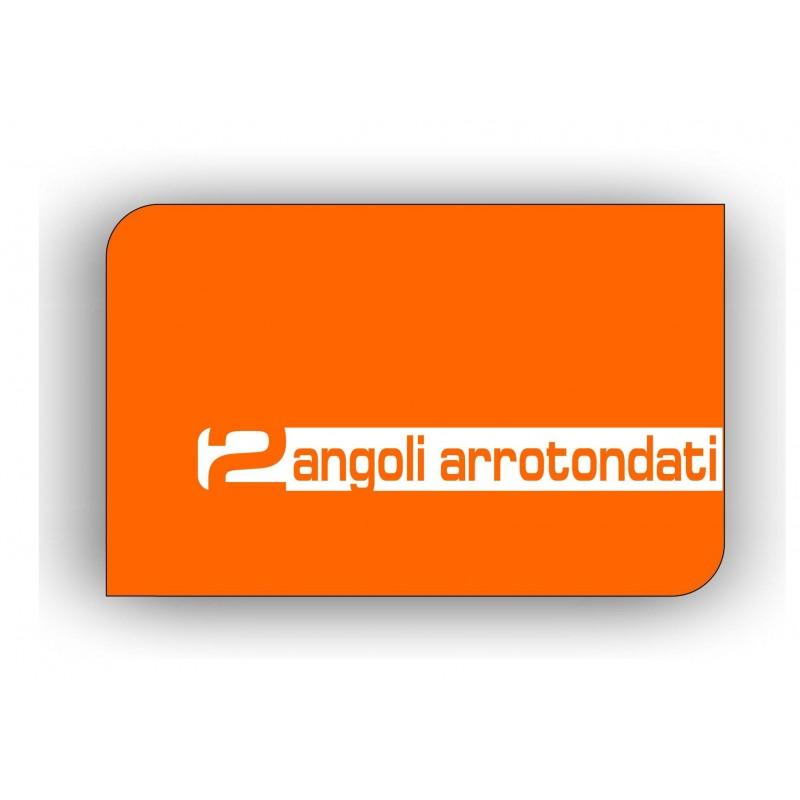 Biglietti da visita 85x55mm 2 Angoli